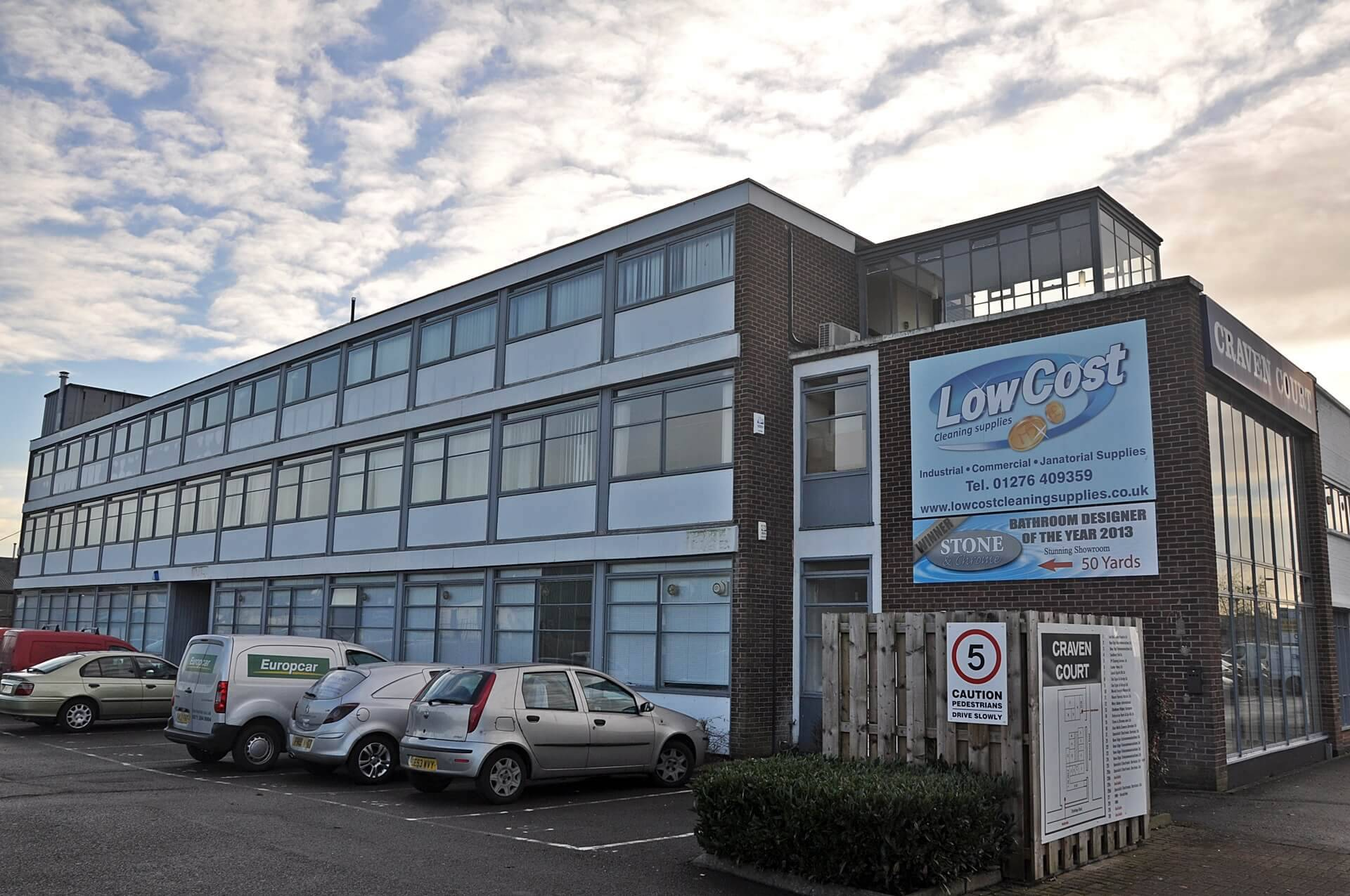 Craven Court Office Space To Let In Camberley